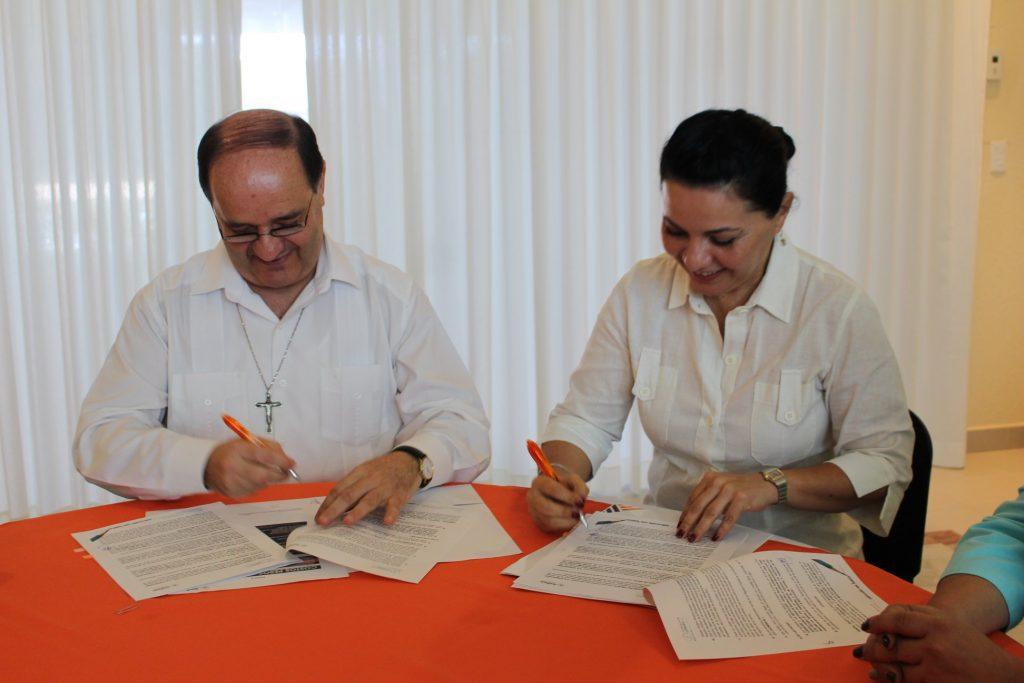 Firma de Convenio Fundacion Lomas-Anahuac