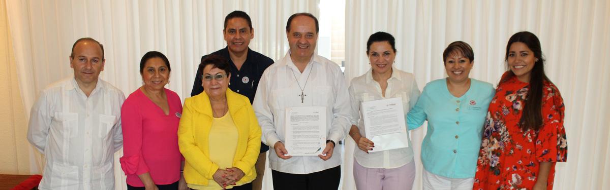 Fundación Lomas y la Universidad Anáhuac firman acuerdo para otorgar becas estudiantiles