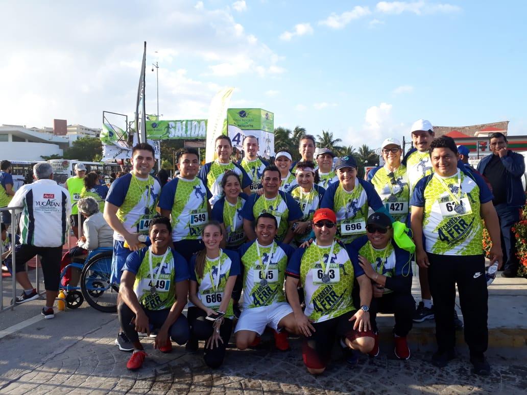 Cientos de participantes unidos por una noble causa: Correr por la educación
