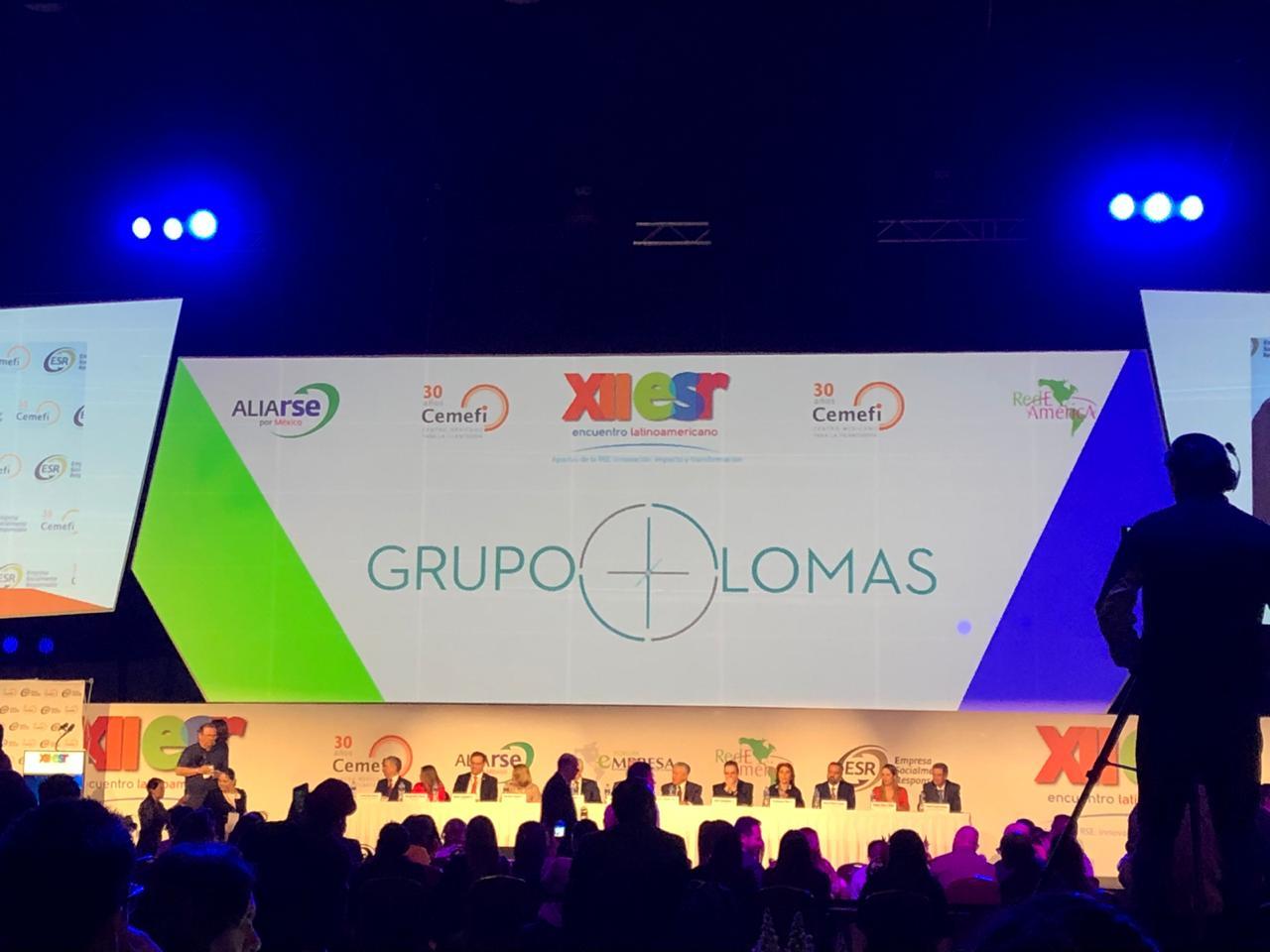 Cemefi y AliaRSE otorgan el Distintivo de Empresa Socialmente Responsable ESR® 2019 a Grupo Lomas.