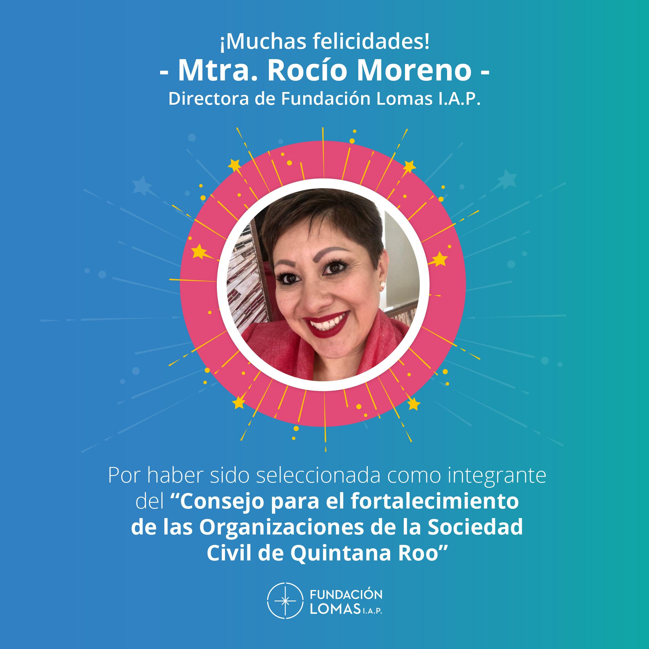 La suma de voluntades garantiza el desarrollo de nuestro estado: Rocío Moreno