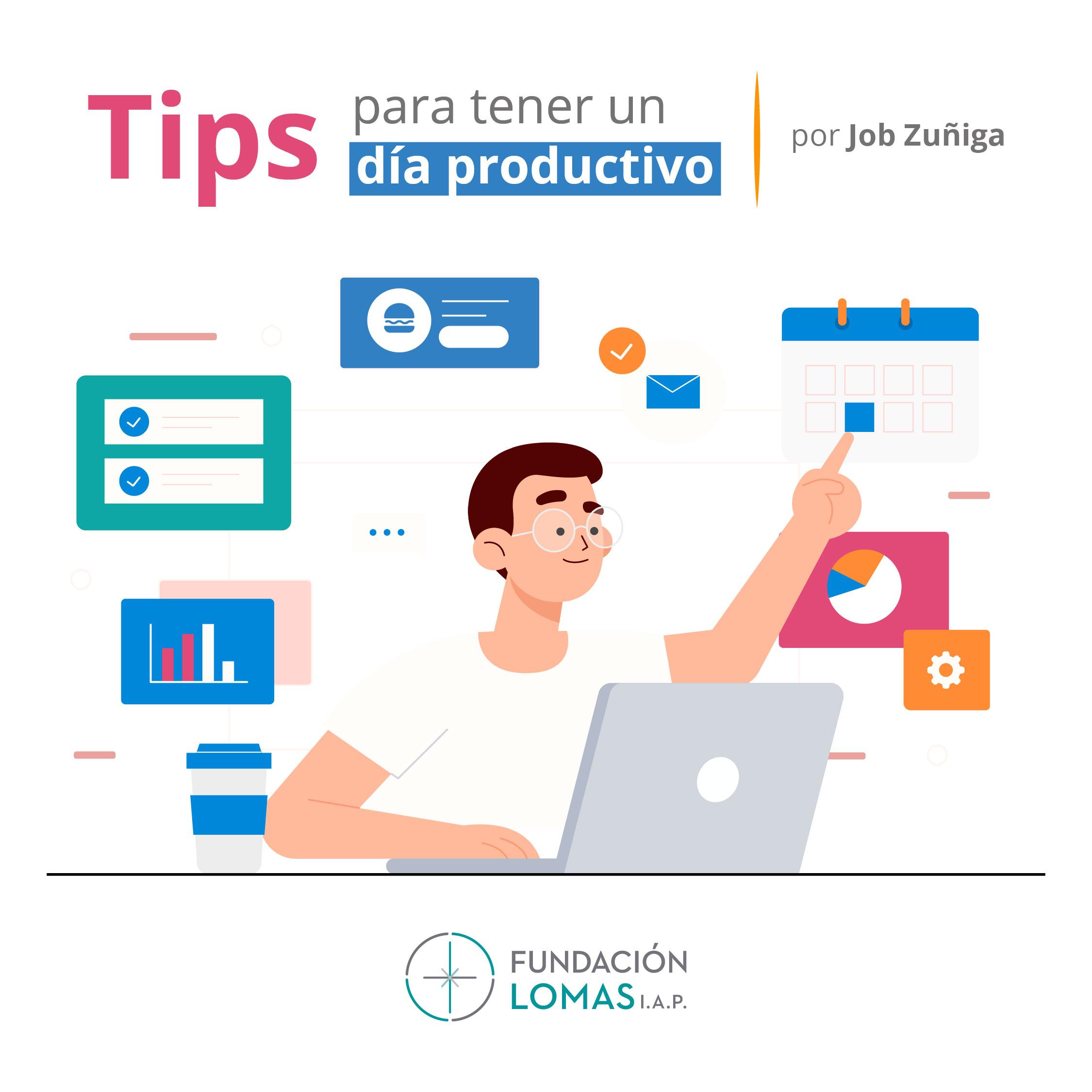 Tips para tener un día productivo